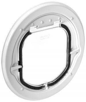 G-SDDSLW Glass Fitting Maxi Slim Pet Door White