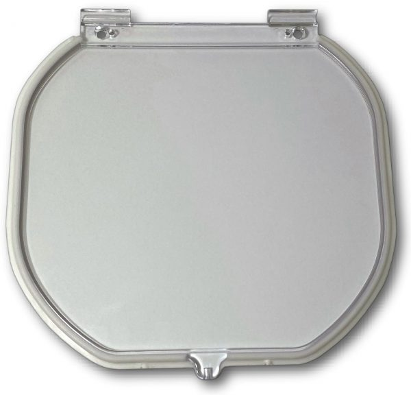 G-CDRF Glass fitting original cat door replacement Flap