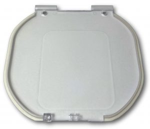 G-MCDRF Glass magnetic cat door replacement flap
