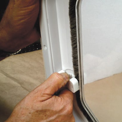 Spare pet door parts and accessories